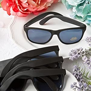 50 Perfectly Plain Collection Cool Black Sunglasses