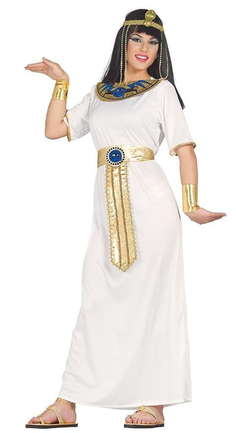 Fiestas Guirca Costume Egitto Nefertiti egiziana Donna  Amazon.it ... 980c68e0501