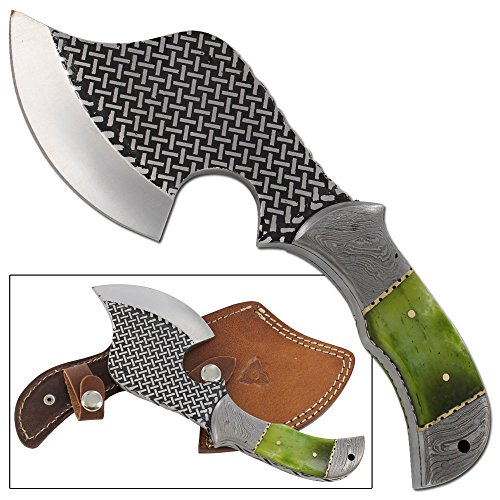 (Cress Green Bone Full Tang Rockeraway Axe)
