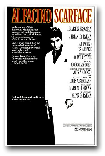Image result for scarface poster