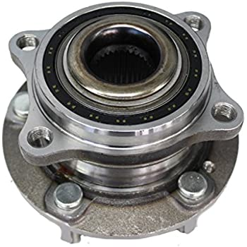 Detroit Axle Driver or Passenger Side Complete Wheel Hub & Bearing Assembly - fits Hyundai & Kia Vehicles
