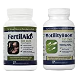 FertilAid for Men and MotilityBoost Combo (1 Month Supply)