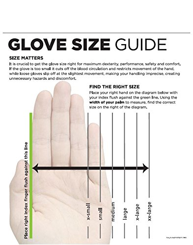 SHOWA Atlas KV300 Natural Rubber Palm Coating Glove, 10 Gauge Seamless Kevlar Liner, Cut Resistant, Large (Pack of 12 Pairs) by SHOWA (Image #1)