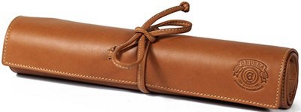 BRAND NEW Ghurka JEWELRY ROLL NO. 229 | CHESTNUT LEATHER RETAIL $495.00 RARE