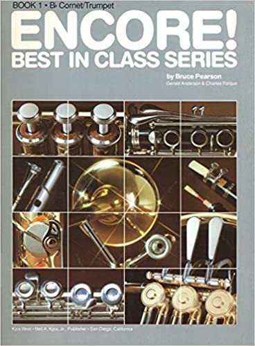 encore best in class series bb tenor saxophone book 1