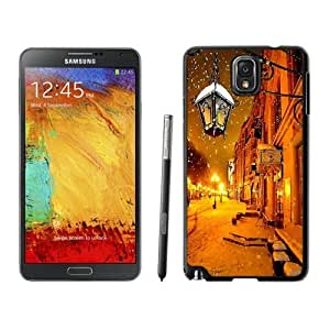 NEW Custom Designed For SamSung Note 3 Case Cover Phone With Moscow Winter At Night_Black Phone