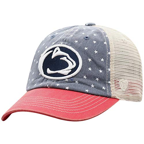 Top of the World NCAA Men's Freedom Icon Adjustable Logo Hat, Penn State Nittany Lions Navy,