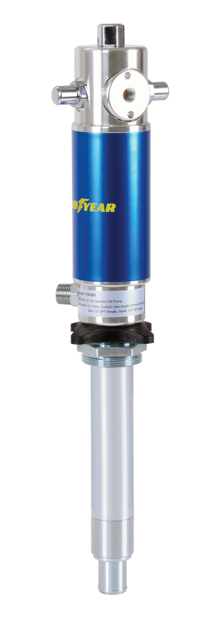 Goodyear Heavy Duty Pro Universal Air Operated Oil Transfer Pump 2 Years Warranty (5:1) by Goodyear (Image #2)