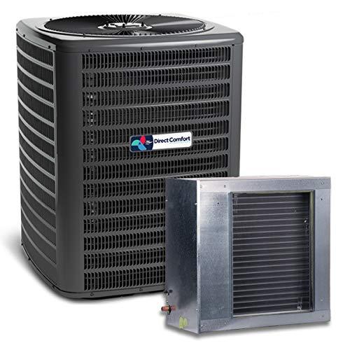 - Goodman Direct Comfort 2.5 Ton 14 Seer Condenser with Horizontal Slab Coil GSX140301 CSCF3642N6 (3/8 x3/4 25' line Set)