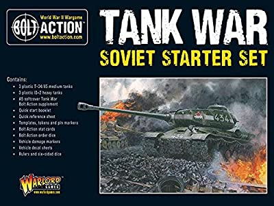 Bolt Action: Tank War Soviet Starter Set by Warlord Games