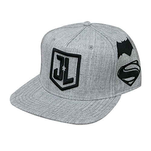 justice+league Products : Justice League Embroidered Logo Snapback Hat