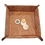 Boshiho Cork Jewelry Catchall Key Coin Box EDC Valet Tray Change Caddy Bedside Box Storage Eco-friendly Gift