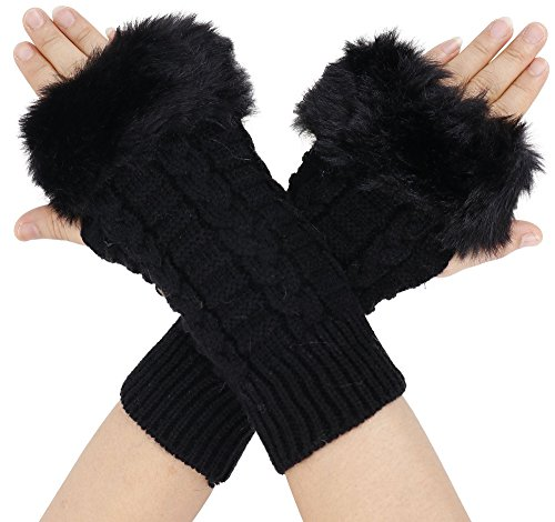Wool Arm Warmers - 9
