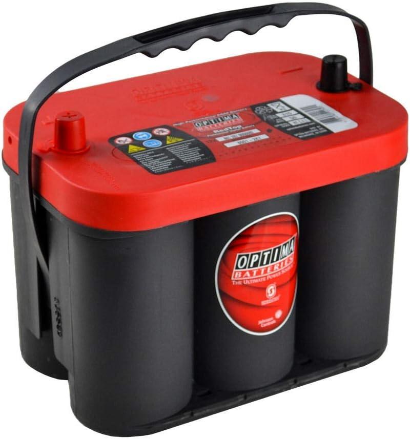 SMC RTC4.2-7 Red Top Batería Optima, Roja