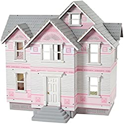 Melissa & Doug Classic Heirloom Victorian Wooden Dollhouse [White]