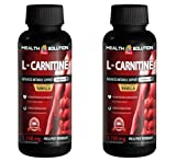 Energy supplement drink - L-CARNITINE 1100mg PRE & POST WORKOUT LIQUID - L-carnitine natural - 2 Bottles
