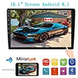 """Car Stereo Double Din MP5 Android 8.1 System Player, 10.1"""" 2.5D Curved HD"""
