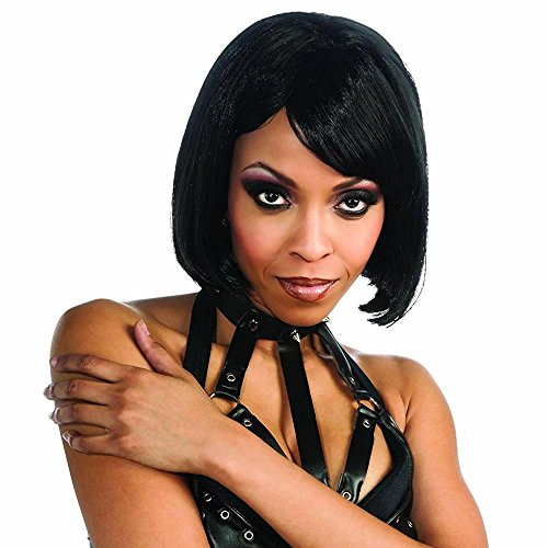 Rubie's Rihanna Adult Short Wig, Black, One Size