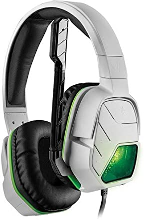 d814a21d63a PDP Afterglow LVL5 Plus Wired Headset: White for Xbox One - LVL 5 Edition: Xbox  One: Computer and Video Games - Amazon.ca