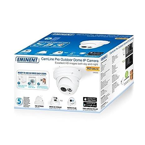 C/ámara IP Eminent GVVCIP0158 EM6355 1080p PoE 1920 x 1080 px