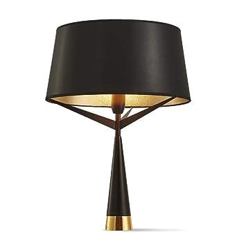Lámpara de pie moderna Lámpara de pie negra Lámpara de mesa ...