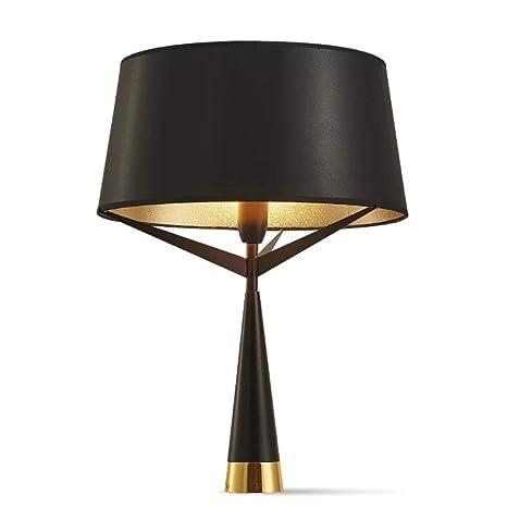 Lámpara de pie moderna Lámpara de pie negra Lámpara de mesa de pie ...