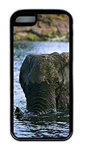 Distinct Waterproof The Water The Elephant Design Your Own iPhone 5c Case