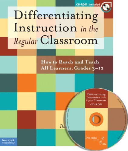By Diane Heacox - Differentiating Instruction in the Regular Classroom: How to Reac (Book with CD-ROM) (2002-11-30) [Paperback]