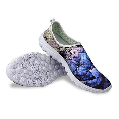 Per Te Disegni Cool Unisex Womens & Mens Mesh Leggero Traspirante Sneaker Scarpe Da Corsa Viola A
