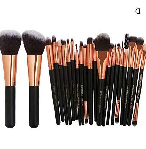 5c188e301177 Kaputar 22PCS Pro Kabuki Make up Brushes Set Makeup Foundation Blusher Face  Powder Brush | Model MKPBRSH - 1008 | 22PCS Black ##