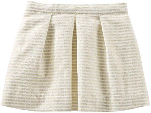 OshKosh B'Gosh Little Girls' Sparkle Woven Skirt (Toddler/Kid) - White - 3T -