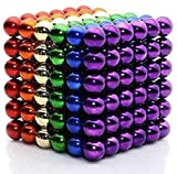 Magnetic Balls 5mm Magnet Cube 216pcs Magnetic Ball Stress Relief Toy Magnetic Fidget Magnet Bead Fidget Toys for Adults Fidget Cube Sticks Stress Desk Toy Micro Magnets Building Toy