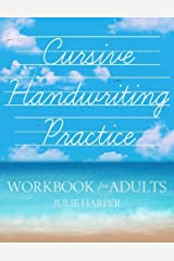 Cursive Handwriting Practice Workbook for Adults Paperback