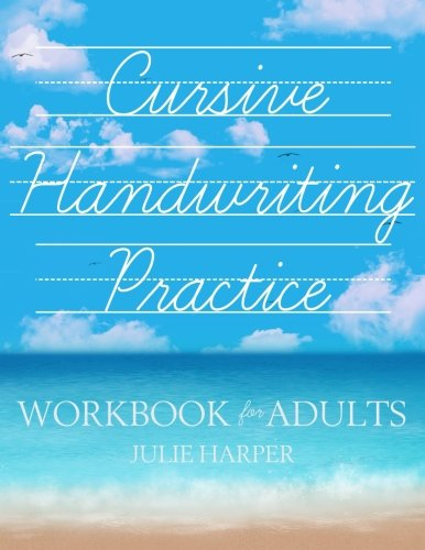 Cursive Handwriting Practice Workbook for Adults (Sign Language Worksheets)