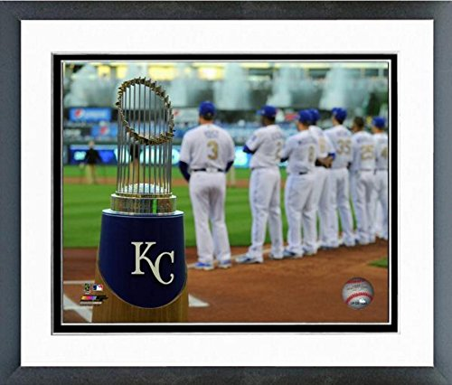 Kansas City Royals Kaufmann Stadium 2016 World Series Ring Ceremony Photo (Size: 18