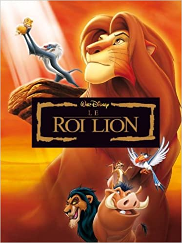 Le Roi Lion Disney Cinema English And French Edition