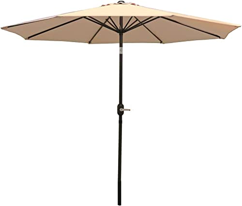 Sunnydaze 9 Foot Outdoor Patio Umbrella