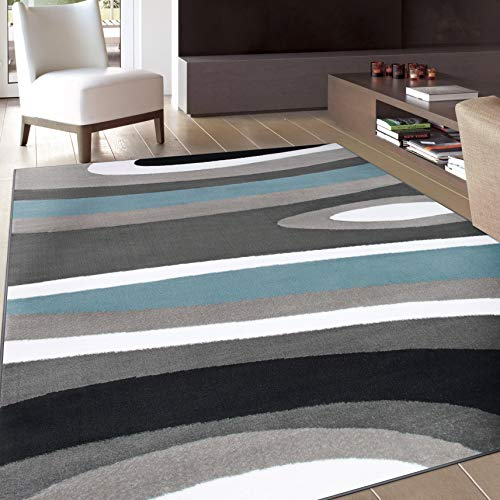 (Rugshop Abstract Contemporary Modern Area Rug, 7' 10