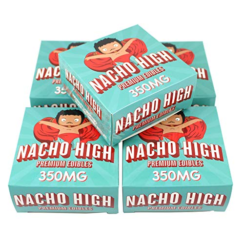 EMPTY Nacho High Premium Display Boxes Packaging for Baked Goods by Shatter Labels 3 x 3