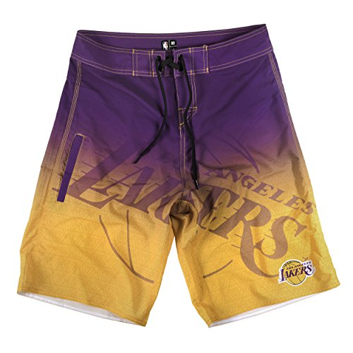 - Los Angeles Lakers Gradient Board Short Small 30
