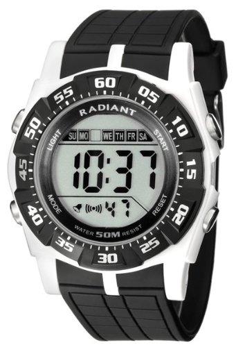 Radiant new Skate Reloj para Hombre Digital de Cuarzo con Brazalete de Silicona RA124604: Amazon.es: Relojes