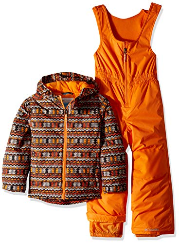 Columbia Kids & Baby Toddler Frosty Slope Set, Solar Zigzag Print, 2T