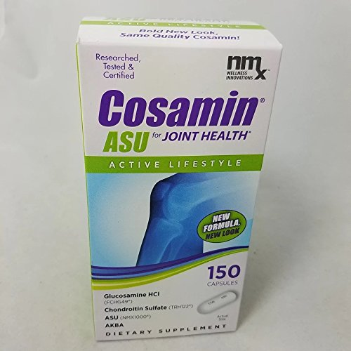 NMX Cosamin ASU for Joint Health Capsules, 150 Count (3 Pack) by NMX Cosamin