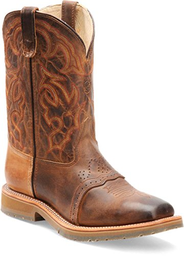 Double H Mens DH3567 Square Steel Toe Roper Boot (10.5 D(M)US, Oldtown (Double H Western Boots)