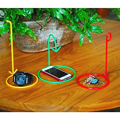 Where's my Stuff? Creative Gift - Fun Novelty Gift Idea Arrow Sign Pointer Organizer & Reminder Rings – Set of (Fun Office)