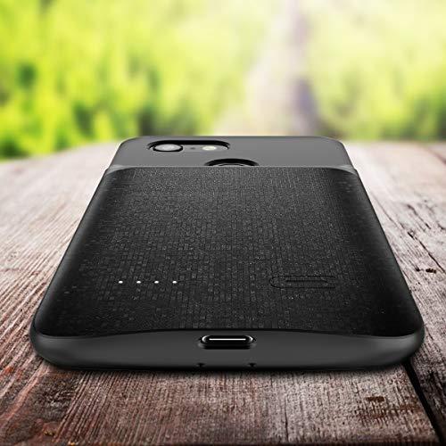 big sale 5c103 d9bb3 Google Pixel 3 XL Battery Case, NEWDERY 4700mAh Slim: Amazon.in ...