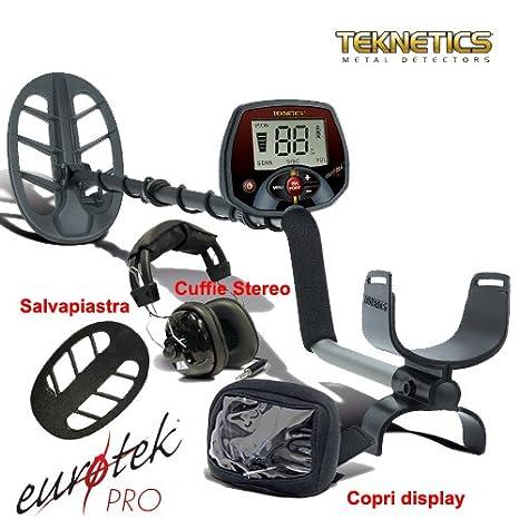 Detector de metales Teknetics Eurotek Pro 11 DD Euro Tek metaldetector cercametalli