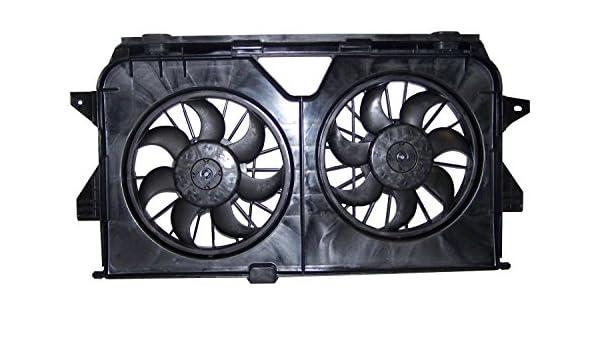 Crown Automotive 4677695 AA refrigeración ventilador montaje: Amazon.es: Coche y moto