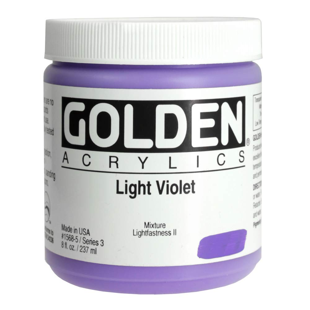 DS - Golden - GAC HB 946ml Naphthol rot Light - 5001210-7 Light lila 8 oz jar