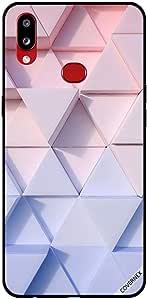 حافظة لهاتف Samsung Galaxy A10S بنمط مثلث الشكل